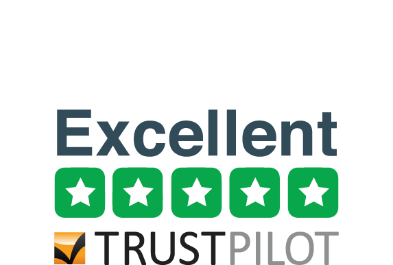 Rated Excellent on Trustpilot UK