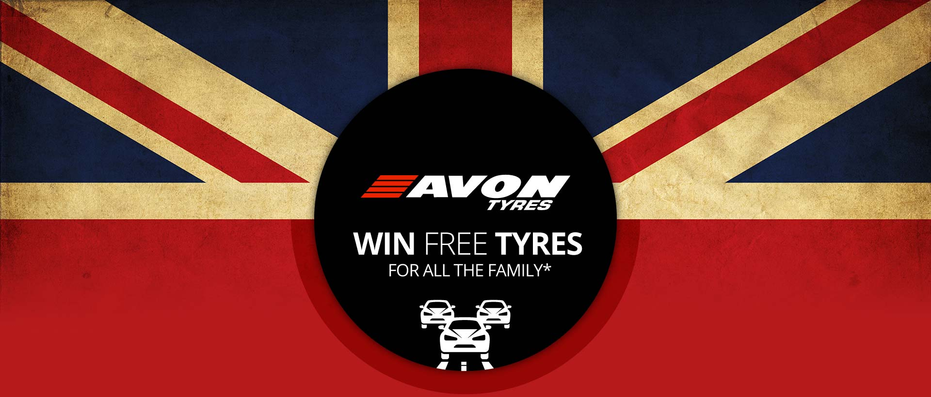 Win Free tyres for all the family when you order Avon tyres