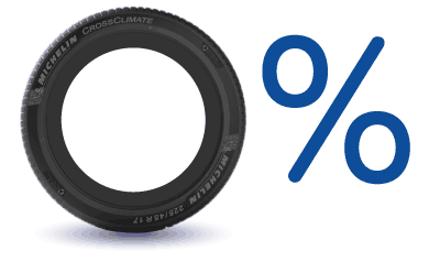 Zero Interest on Michelin Tyres at Blackcircles.com