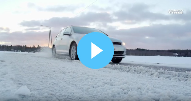 Winter tyre benefits video